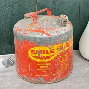 Vintage | Galvanized Gas Can